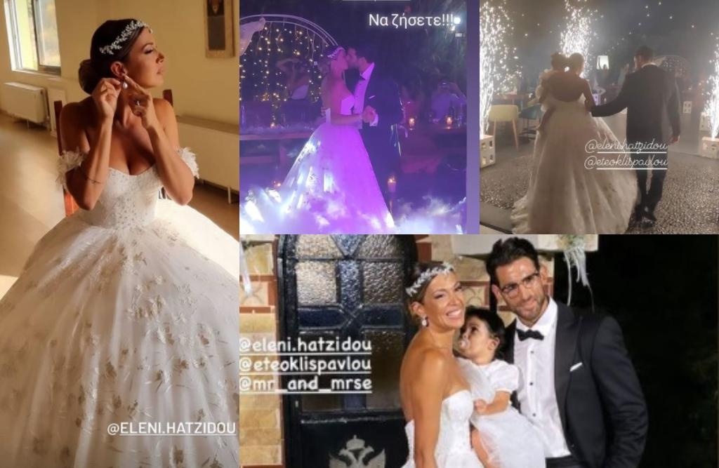 Ελένη Χατζίδου - Ετεοκλής Παύλου: Όλα όσα συνέβησαν στο φαντασμαγορικό  πάρτι του γάμου τους - Δείτε Βίντεο | Znews
